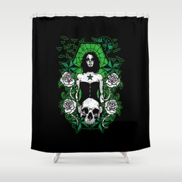 Counting Shower Curtain