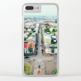 Reykjavik, Iceland Clear iPhone Case