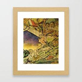 Mezzetta and Rockwell Framed Art Print
