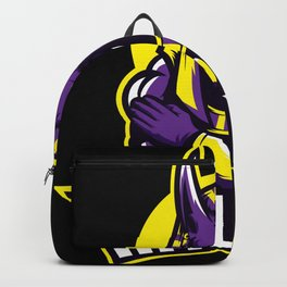 Egyptian God Anubis The Fighter Backpack
