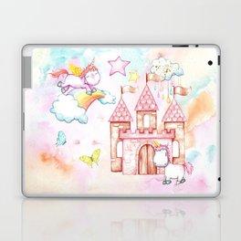 Unicorn Avalon Island Laptop & iPad Skin