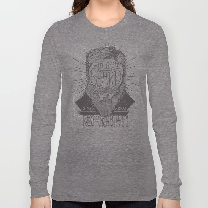 The Beard Long Sleeve T-shirt