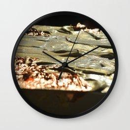 Copper Tilt Wall Clock