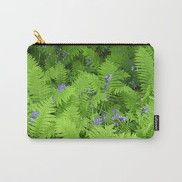 Bluebells and Ferns Carry-All Pouch