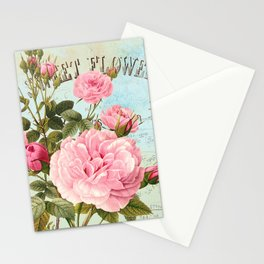 Vintage Flowers #2 Stationery Cards