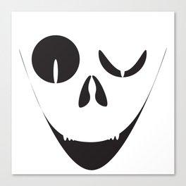 Evil Smile Canvas Print