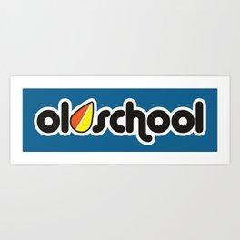 OLDSCHOOL v1 HQvector Art Print