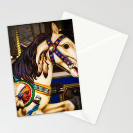 Pony ride @ fair Stationery Cards