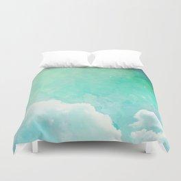 Cloud sky pattern Duvet Cover