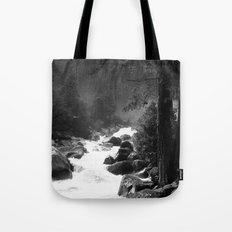 Whiteout Yosemite-2 Tote Bag