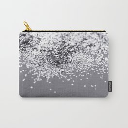 Sparkling SILVER Lady Glitter #2 #decor #art #society6 Carry-All Pouch
