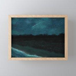 First Frost - Before Dawn Framed Mini Art Print