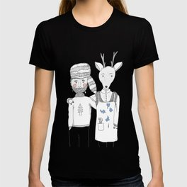 The Deer and The Woodcutter T-shirt