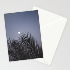 Moonrise over Los Angeles Stationery Cards