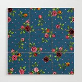 Boho Floral Wood Wall Art