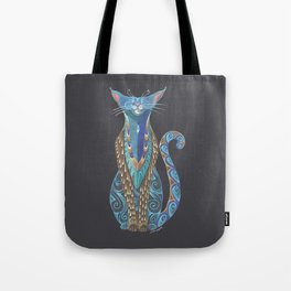 Cat Totem Tote Bag