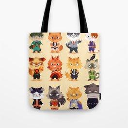 Meow Hero Acatdemia Tote Bag