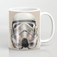 stormtrooper Mugs featuring Stormtrooper by beart24
