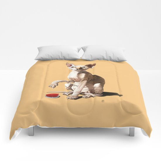 Cat-astrophe (Colour) Comforters