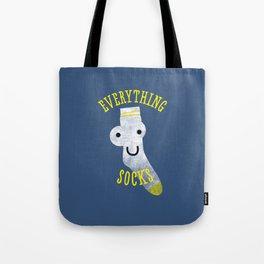 Everythings Socks Tote Bag