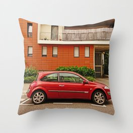 Renault Megane Coupe - The Remanent Gladiator Throw Pillow