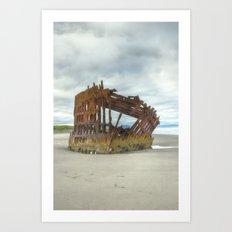 Shipwreck 2... Art Print