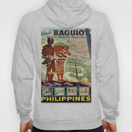 Vintage poster - Philippines Hoody