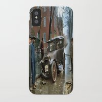 washington iPhone & iPod Cases featuring Rainy Day, Washington, D.C. by Brown Eyed Lady