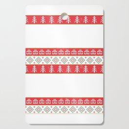 Funny Gun Shirt Ugly Christmas Gun Lover Gift Cutting Board