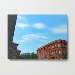Downtown New Bedford Metal Print