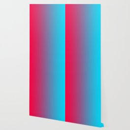 Pink and Sky-Blue Gradient 010 Wallpaper