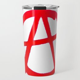 Anarchy Graffiti Travel Mug