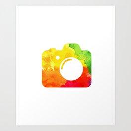 The Cam Art Print