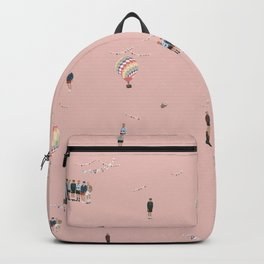 BTS Young Forever Pattern - Pink Backpack