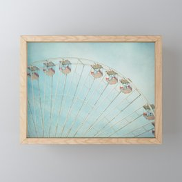 The Giant Wheel Framed Mini Art Print