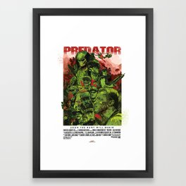 The Predator Framed Art Print