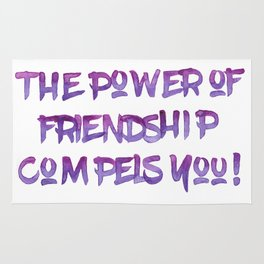 The Power of Friendship Rug