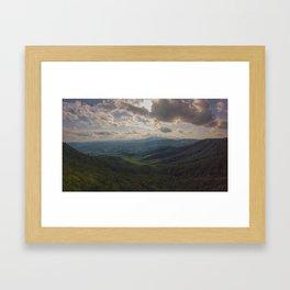 Blowing Rock - NC Framed Art Print
