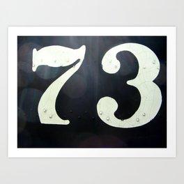 73 Art Print