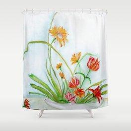 Ikebana II Shower Curtain