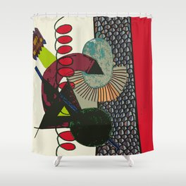 DESIGN AND THE CITY Shower Curtain