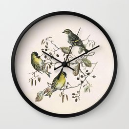 Springtime is lovetime Wall Clock