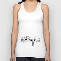 plants Tank Tops featuring Plants by One Fig Blossom Studio