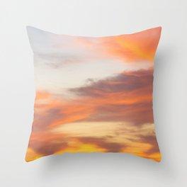Texas Sunrise Throw Pillow