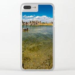Mono_Lake California - 4 Clear iPhone Case