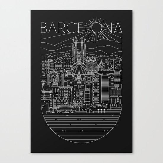 Barcelona Canvas Print