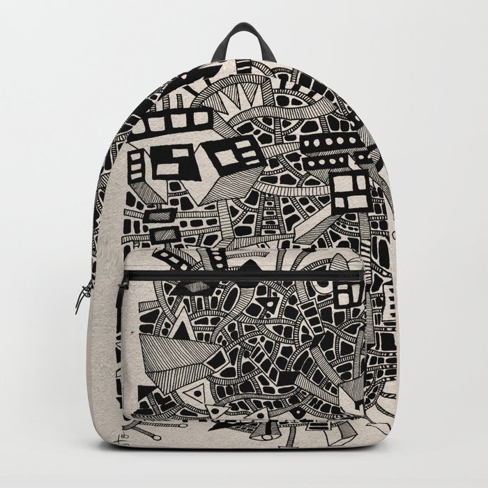 - city of april - Backpack