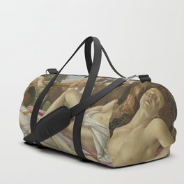 Botticelli - Venus and Mars Duffle Bag