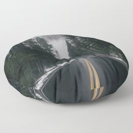 Forest Way Floor Pillow