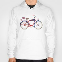 british Hoodies featuring British Bicycle by Wyatt Design